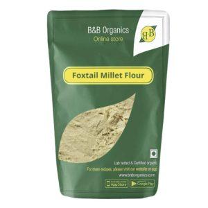 Foxtail Millet Flour, 1 kg By B&B Organics