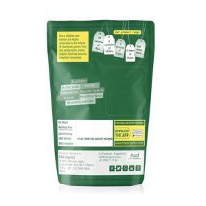 Foxtail Millet Flour, 1 kg By B&B Organics back
