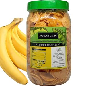 Ripened Banana Crunchy Chips 400 gms by My Village Kerala