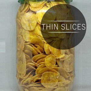 Un-Ripened Banana Crunchy Chips 400 gms by My Village Kerala Jar