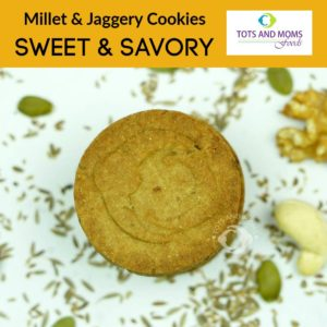 Millet & Jaggery Cookies for Kids by Tots and Moms 3