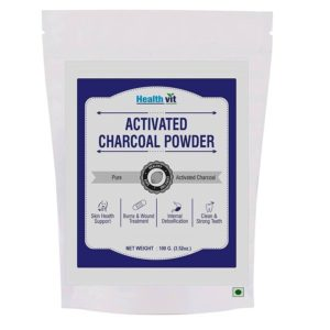 Activated Charcoal Powder 100g by HealthVit