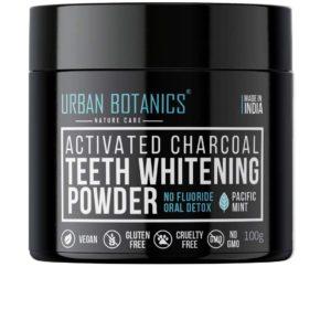 Activated Charcoal Teeth Whitening Powder by UrbanBotanics