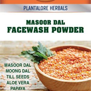 Natural Facewash Powder Masoor Dal by Plantalore Herbals