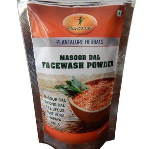 Natural Facewash Powder Masoor Dal by Plantalore Herbals Pack