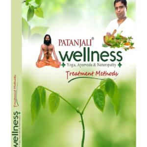 Patanjali Wellness Yog Ayurved Naturopathy Treatment Methods Book Front